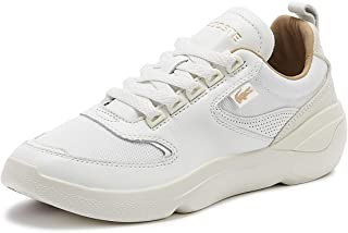 Lacoste Wildcard 319 2 Womens Off White Trainers-UK 8 / EU 42