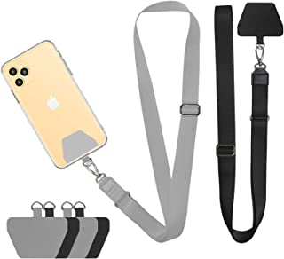 Doormoon Phone Neck Strap, Wristlet Keychain with Patch Works with All Smartphones Cases Drop Protection Compatible with i...