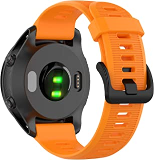 Tosenpo Armband för Fenix 5, ersättningsarmband i silikon för Garmin Forerunner 945/Fenix 5/Fenix 5 Plus/Fenix 6/Fenix 6 P...