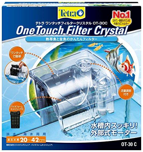 テトラ (Tetra) 水槽 ワンタッチフィルター クリスタル OT‐30C M サイズ