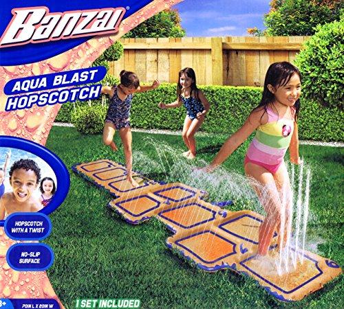Toyquest Banzai Wasserspielzeug Tempelhüpfen Hüpfspiel