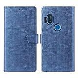 Foluu Motorola One Hyper Case, Wallet Case Cover Card