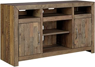 Ashley Furniture Signature Design - Sommerford LG TV Stand w/Fireplace Option, Brown