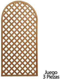 Papillon 8043005 Juego de Paneles Celosia Arco Madera 180x90