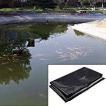 Rubber Heavy Sheet Black (18 ft x 30 ft) 580 GSM Fish Pond Liner Garden Pools HDPE Membrane Reinforced
