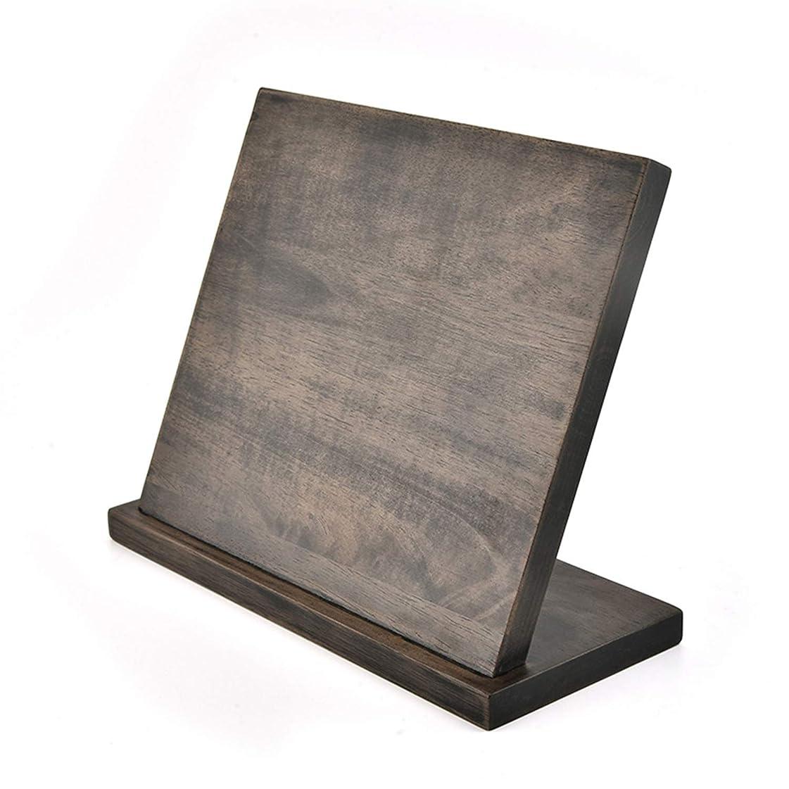 一元化する水差しバーマド多機能磁気ナイフホルダーラバーウッド強い吸着包丁ホルダー磁気ラック収納ボックス