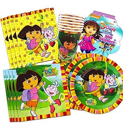 dora party supplies birthday