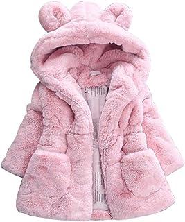 833270b762d8f Scothen Bébé enfant en bas âge fille winterjacke enfants vestes fourrure  chaud manteau d hiver