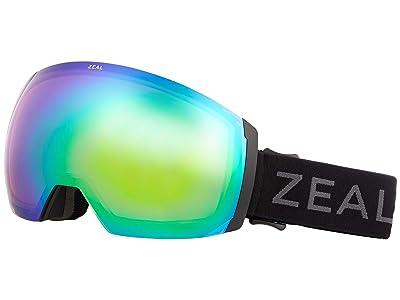 Zeal Optics Portal XL (Dark Night w/ Jade Mirror + Persimmon Sky Blue Lens) Goggles