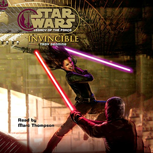 Star Wars: Legacy of the Force #9: Invincible audiobook cover art