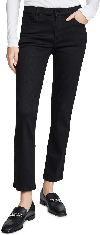 J Brand Women's Adele Mid Rise Straight Jeans