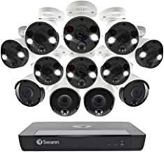 Swann 12 Camera NVR Professional Smart Security System 4K, Night Vision, 2TB HD