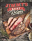 "JIMMY'S BEST RECIPES: Personalized Recipe Book To Write In • Take Notes - Refine The Process - Improve Your Results • 8.5"" x 11"" • 110 Pages For 100 Recipes (Design Edition, Band..."