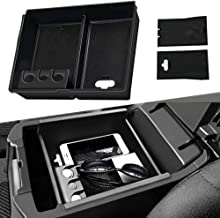 4XBEAM Center Console Armrest Box Glove Box Secondary Storage Compatible for Toyota Sienna 2011-2019