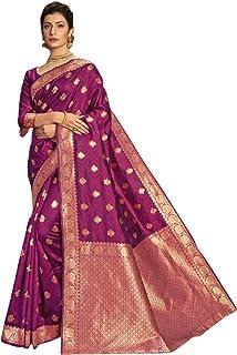 رداء نسائي أرجواني هندي / باكستاني رسمي للحفلات مصنوع من قماش الجاكار الحريري مع تصميم جديد 6054