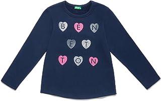 United Colors of Benetton Kız Çocuk Sweatshirt Benetton Yazılı Sweathshirt