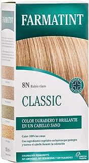 Farmatint Gel 8N Rubio Claro | Color natural y duradero | Componentes vegetales y aceites naturales | Sin amoníaco | Sin P...