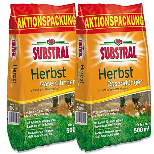 Substral 8243 Herbst Rasendünger 25 kg für 1000 m²