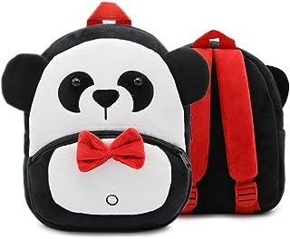 Children Toddler Preschool Backpack Plush Animal Cartoon Backpack Baby Kids School Satchel Travel Lunch Bags