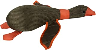 Queenmore Dog Toys, Durable Soft No Stuffing Plush Squeaky Pet Toy Dog Chew Toy for Small Medium and Large Dogs(Wild Duck Shape, 3 Colors)