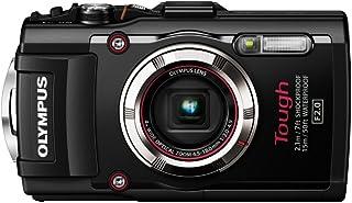 OLYMPUS デジタルカメラ STYLUS TG-3 Tough ブラック 1600万画素CMOS F2.0 15m防水 100kgf耐荷重 GPS+電子コンパス&内蔵Wi-Fi TG-3 BLK