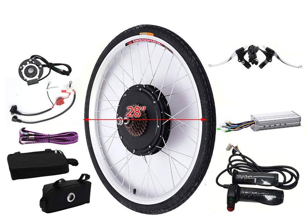 KAHE2016 Kit de conversión de Motor eléctrico para Bicicleta eléctrica, 28 Pulgadas, 36 V, 250 W, el Mejor: Amazon.es: Deportes y aire libre