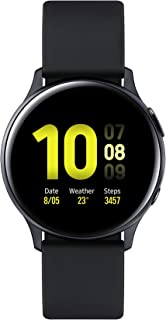 Samsung SM-R820N Galaxy Watch Active 2, 44mm, Aluminium - Aqua Black (Pack of 1)