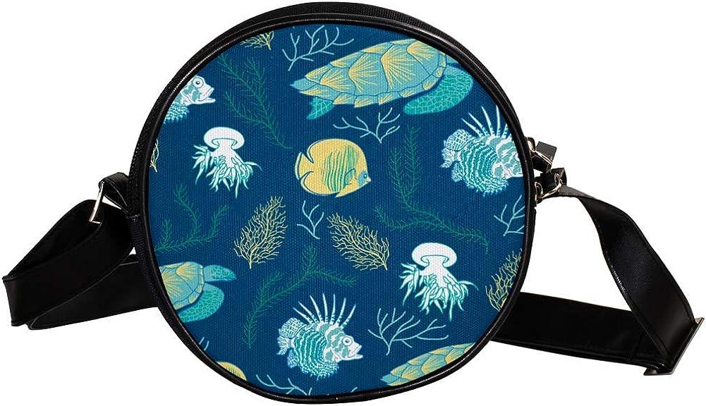 Coin Purse For Kids Underwater World Luxury goods Crossbody 55% OFF Mini Fish Turtle