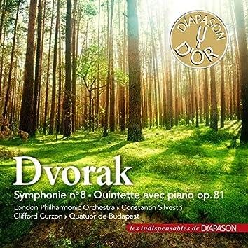 Dvořák: Symphonie No. 8 & Quintette avec piano No. 2 (Les indispensables de Diapason)