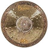 Meinl Cymbals Byzance 21' Jazz Nuance Ride with Rivets, Ralph Peterson Signature — MADE IN TURKEY — Hand Hammered B20 Bronze, 2-YEAR WARRANTY, B21NUR, inch