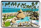 E021 PUNTA CANA FRIDGE MAGNET DOMINICAN REPUBLIC TRAVEL PHOTO CALAMITA DA FRIGO