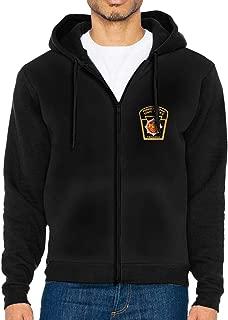 Pennsylvania State Police Men's Full-Zip Up Hoodie Jacket Pullover Sweatshirt