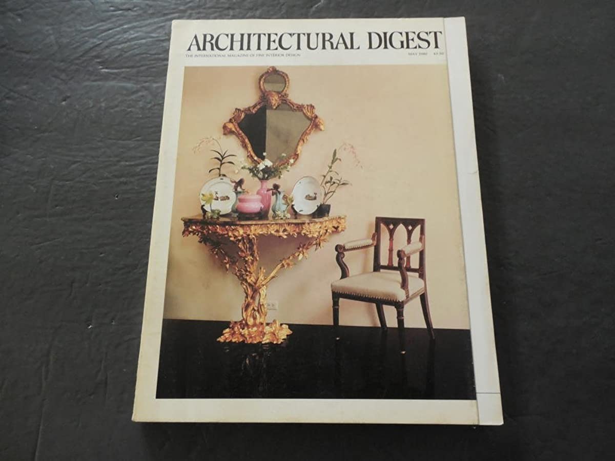Architectural Digest May 1980 Exotic Accents (What Did You Say?)