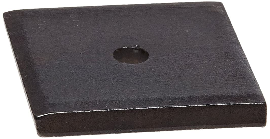 Steel Flat Washer, Black Oxide Finish, 5/16