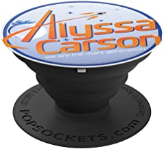 Alyssa Carson Pop Socket - PopSockets Grip and Stand for Phones and Tablets