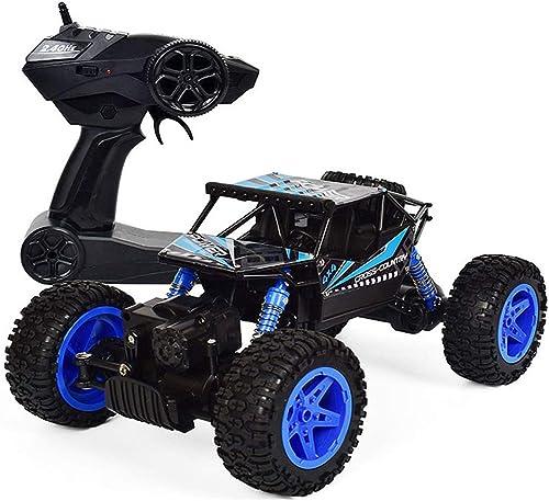 Hbwz Ferngesteuertes Gel ewagen-Spielzeug 1 18 Legierung Federung Stoßdämpfer 2.4GHZ Kippende Torsion Allradantrieb Auto Modell Geeignet für mehr als 6 Jahre alt