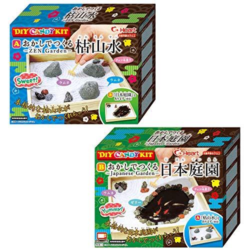 DIY CANDY KIT <おかしでつくる枯山水><日本庭園> 6入 食玩・手作り菓子