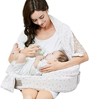 Baby Pillow AGYH Anti-spit Milk Nursing Pillow for Toddler Scientific Design Materials Easy to Clean,3 Styles (Color : Upgrade - Style)