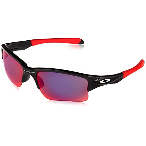 683efba79a9 Oakley Quarter Jacket Non-polarized Iridium Rectangular Sunglasses (Youth  Fit)