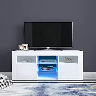 Television Stands Blue Television Stands Entertainment Centers Tv Medi Home Kitchen