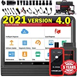 LAUNCH X431 V PRO 4.0 (2021 New Version) Bi-Directional Scan Tool Full System OBD2 Scanner,ECU Online Coding,Actuation Test,Key IMMO,31+ Reset Functions,AutoAuth for FCA SGW + EL-50448 TPMS Tool