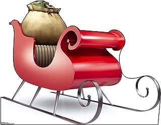 Advanced Graphics Santa's Sleigh Life Size Cardboard Cutout Standup