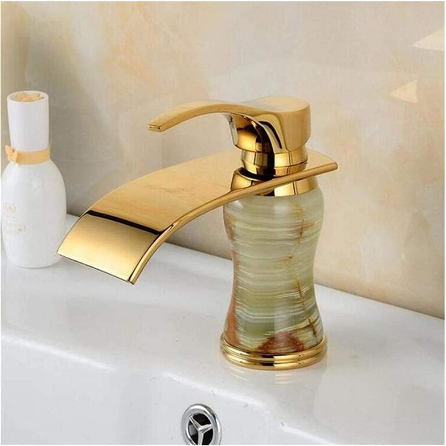 Stainless Steel Vintage Brass Basin Faucets Mixer Vintage, Brass Retro Toilet Basin Faucet gold,Bathroom