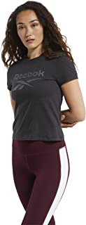 Reebok Women's TE Texture Logo Tee T-Shirt