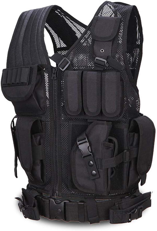 Outdoor Camouflage Combat Assault Waistcoat Tactical Molle Vest Vest