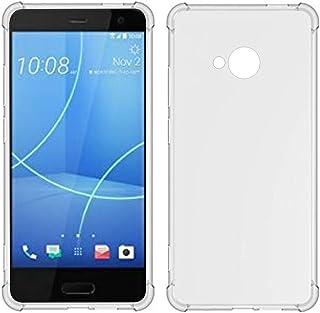 TIYA Case Clear for HTC U11 Lite TPU Four Corners Cover Transparent Soft