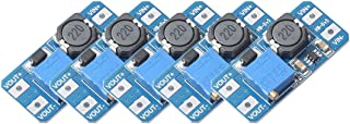 5pcs MT3608 DC-DC Boost Power Converter 2A Adjustable Step Up Voltage Regulator Board Input Voltage 2-24V to 5V-28V Output...
