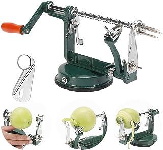 Gorgenius Apple Peelers,Apple Peeler Corer Slicer Suction Base Durable Heavy Duty Blade..