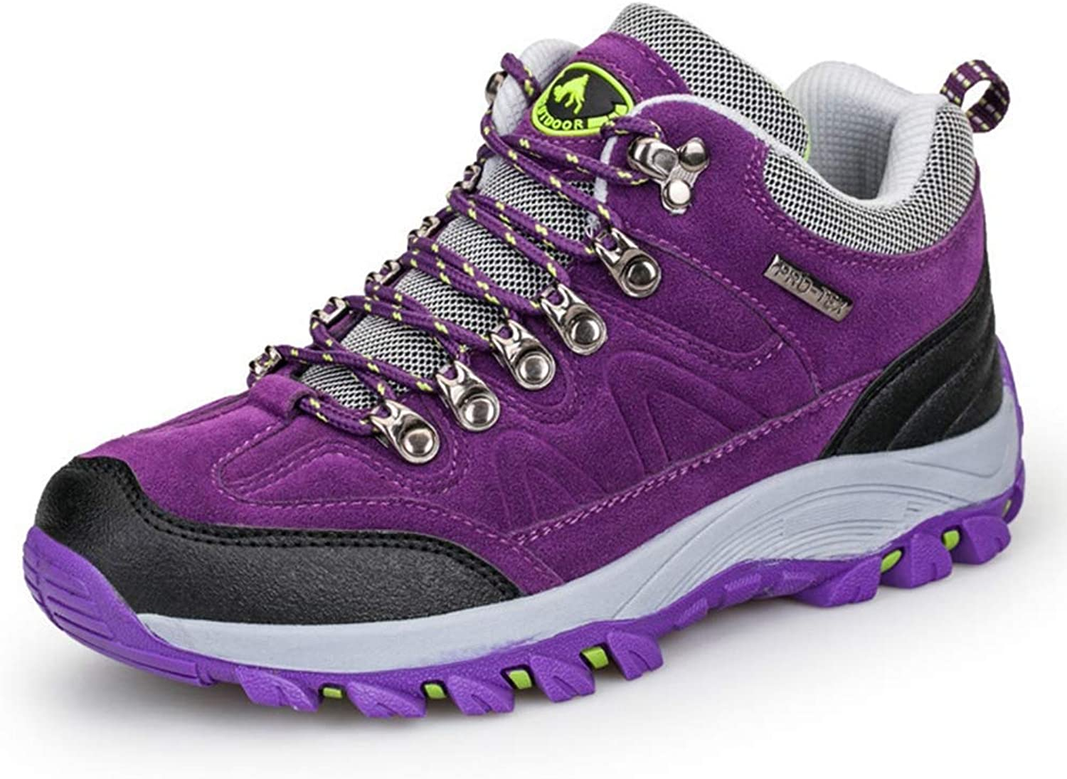 Fullwill Womens Hiking shoes Outdoor Waterproof Sports Trail Trekking Climbing Running Walking Sneakers