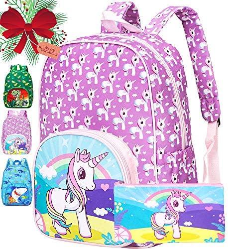 Preschool Backpack Girls 15 Unicorn Toddler Backpacks product image